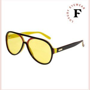 Gucci Retro aviator Unisex Sunglasses